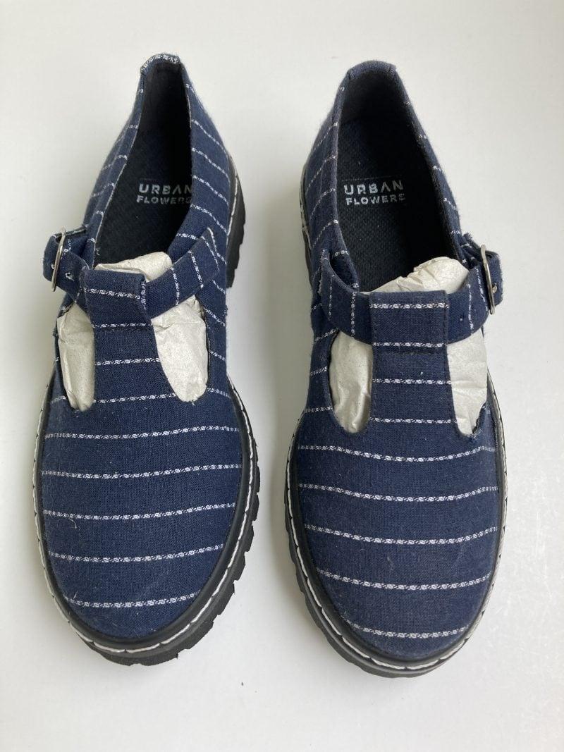 Sapato Tratorado Teodora Listrado (Amostra) (Pequenos Defeitos) 3
