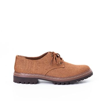 Sapato Tratorado Terra Hidrorrepelente Conhaque