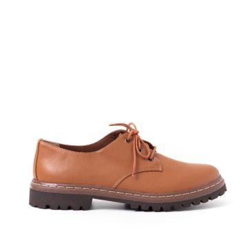Sapato Tratorado Terra Caramelo